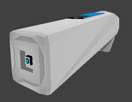 3D device project keyboard model