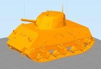 DL43 Nahuel Argentinean Tank- 3D printable