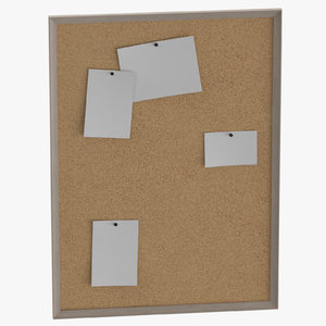 3D corkboard games file