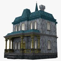 3D creepy old classic model