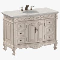 classical vanity 3D model