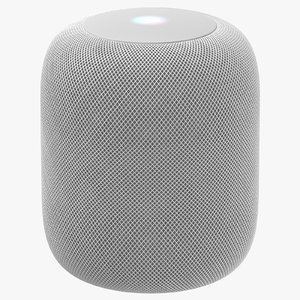 3D model apple homepod white -