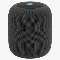 apple homepod black - 3D model