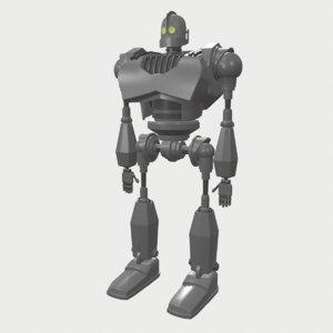 iron giant 3D