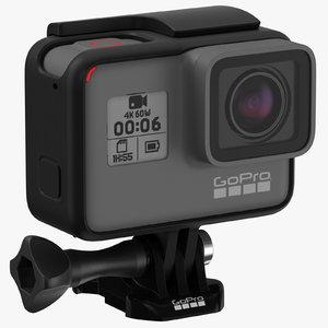 gopro hero 6 cameras 3D model
