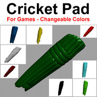 3D cricket pad