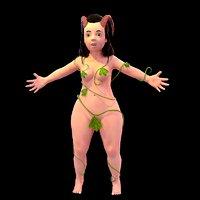 3D model satyr women