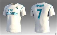 t-shirt liga cr7 model