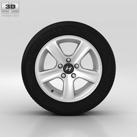 hyundai wheel 3D model
