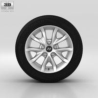 3D hyundai wheel model