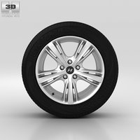 hyundai wheel 3D