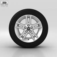 3D hyundai wheel