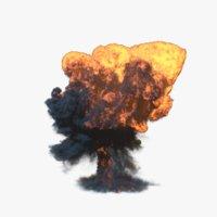 3D explosion 4 model