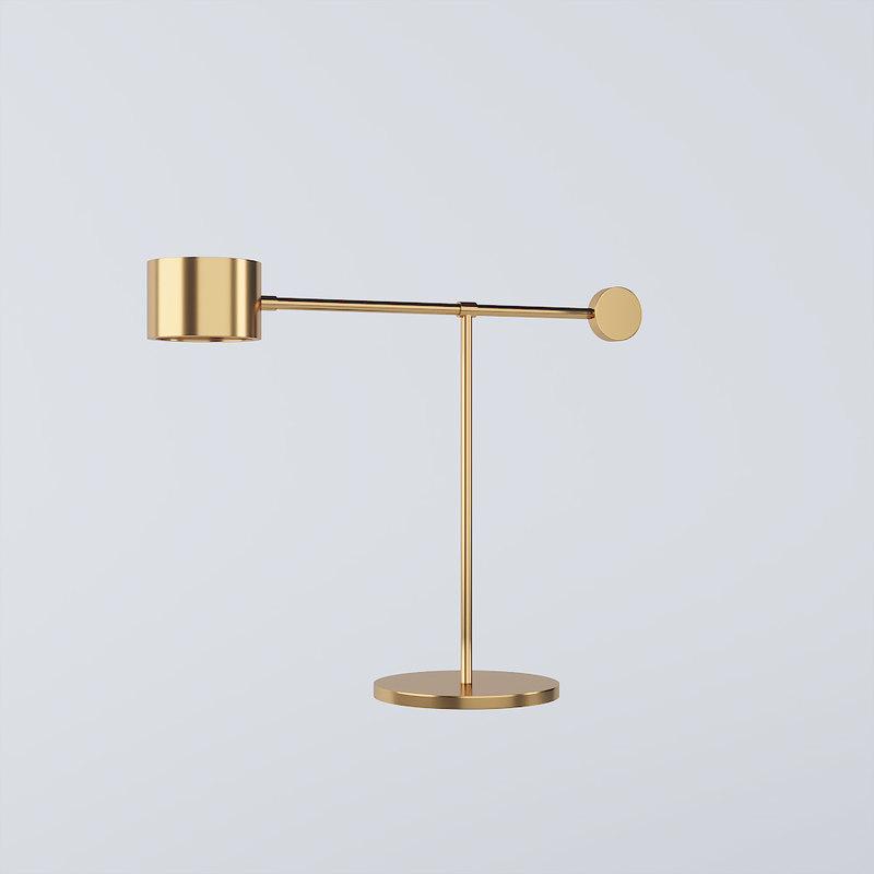 balance lamp 3D