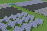 Solar Power Plant models