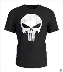 t-shirt shirt punisher 3D