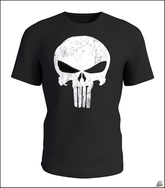 t-shirt shirt punisher 3D