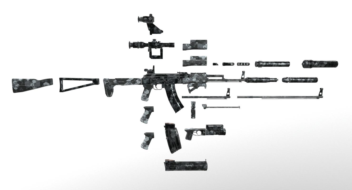 ak kit model