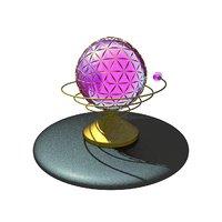 sphere decoration model