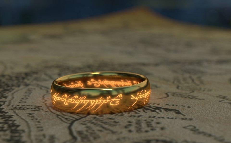 ring hobbit 3D model