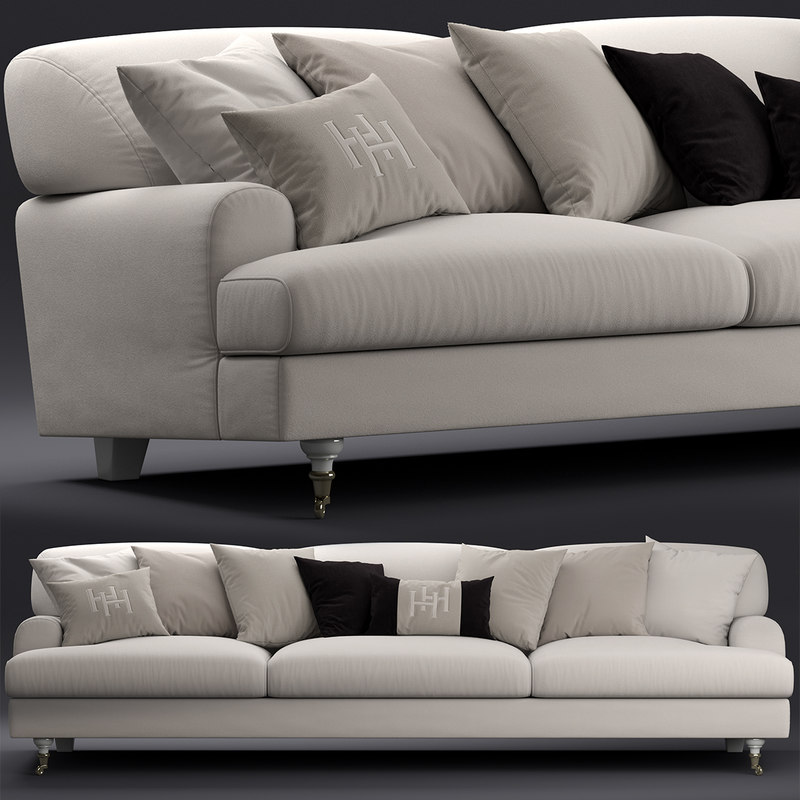 sofa seat furniture 3D model