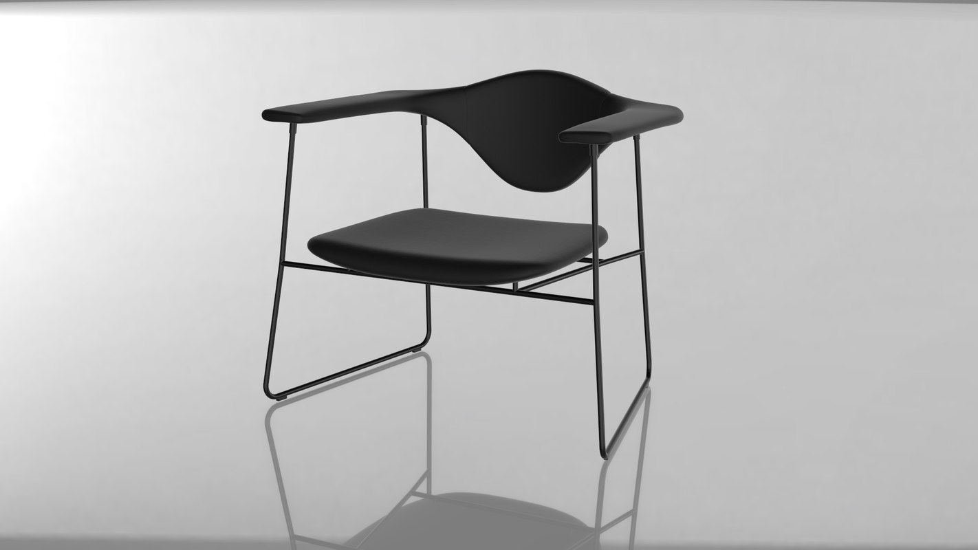 masculo chair 3D model