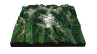 olympic national park landscape 3D
