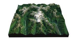 olympic national park landscape 3D