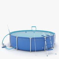 frame pool 3D model