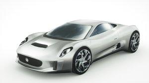 c-x75 car 3D model