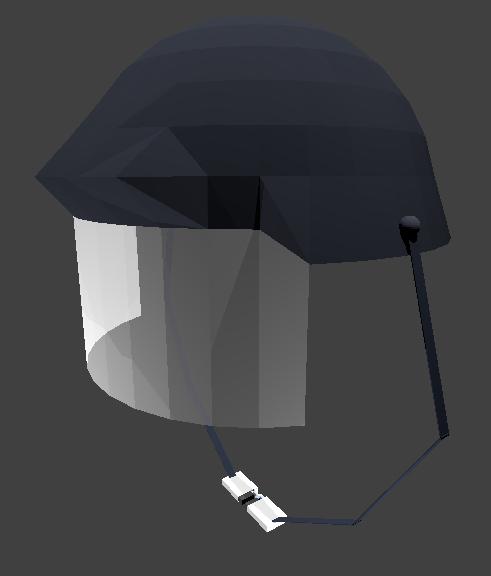 police helmet 3D model