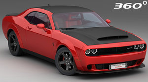 dodge challenger srt demon model