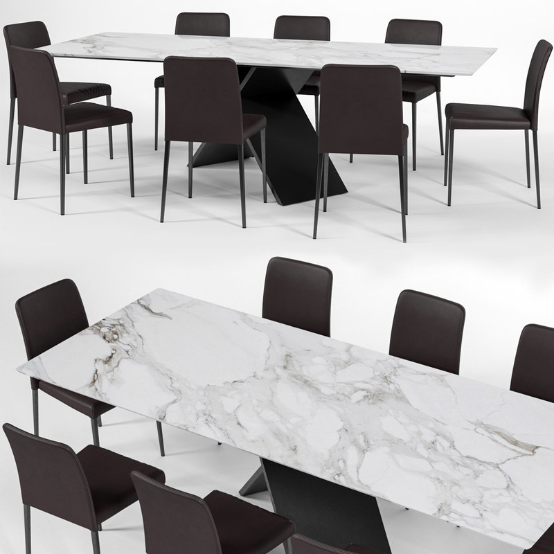 bonaldo deli chair ax 3D model