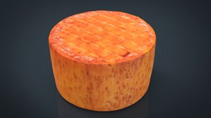3D realistic goat cheese model