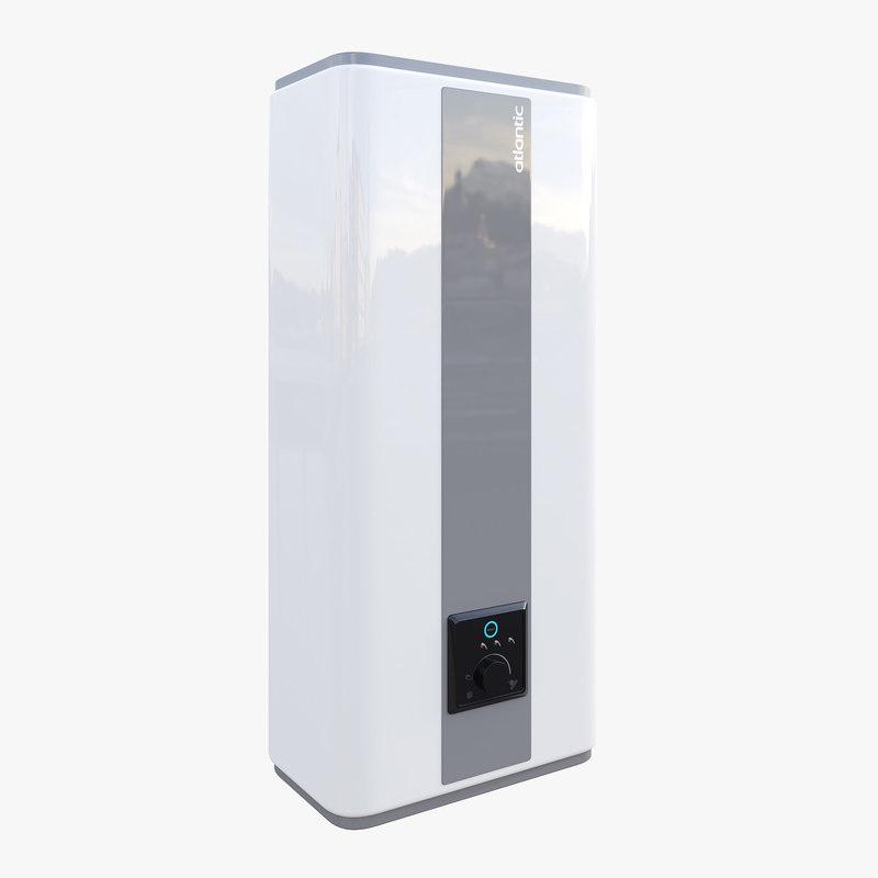 atlantic boiler 3D