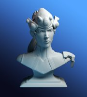Widowmaker bust