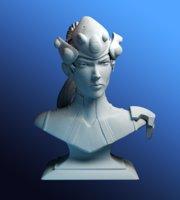 overwatch print 3D model
