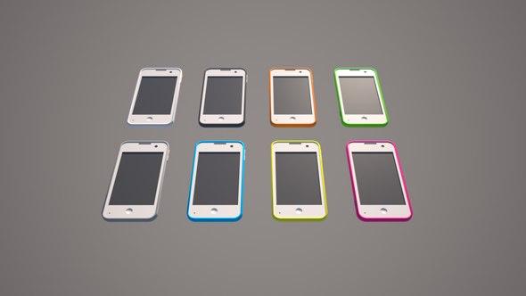 phone smart smartphone 3D model