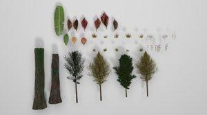 3D forest pack model