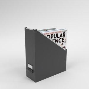 blender ikea fjlla magazine 3D model