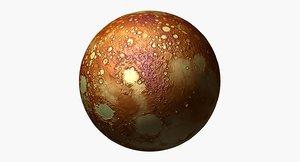 3D model planet science