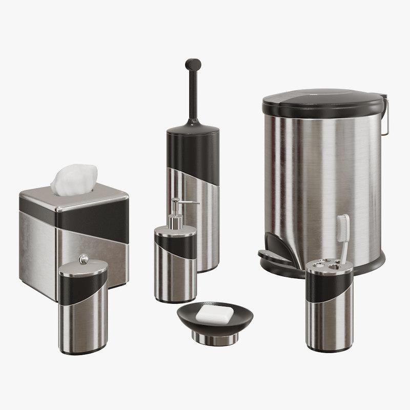 bath accessories model