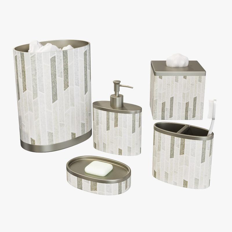 3D bath accessories