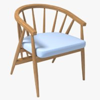 realistic chair vivien 3D