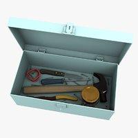 tool case 3D model
