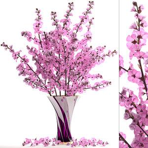 sakura bouquet 3D