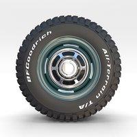 wheel goodrich 3D model