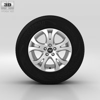 3D hyundai wheel model