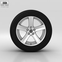 3D model hyundai wheel