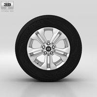 hyundai wheel 3D